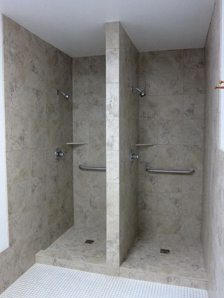 new showers